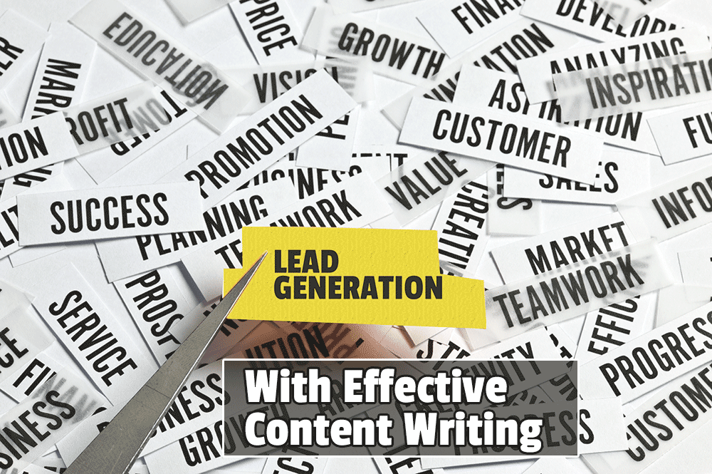 Lead generation with content marketing